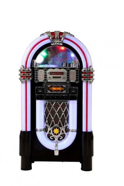 Musikbox Denver, Jukebox mit CD, USB, Bluetooth