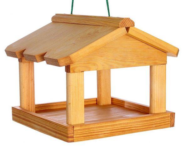 """Vogelhäuschen """"Skandinavien"""", zum Aufhängen, Holz, Futterhaus"""