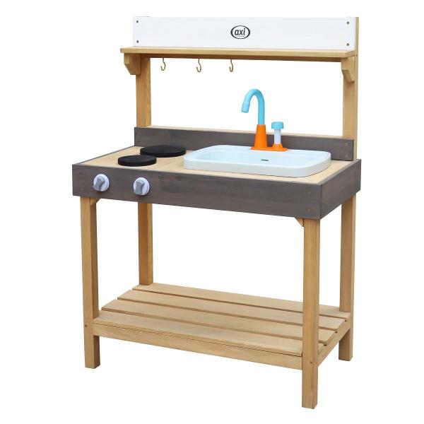 Axi Spielküche aus Holz für Kinder, für Außenbereich