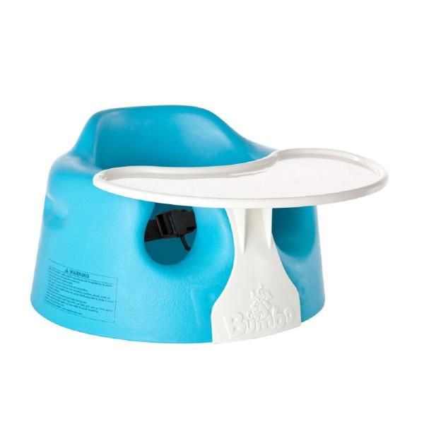 Bumbo-Set, Kindersitz mit Tablett und Sicherheitsgurt