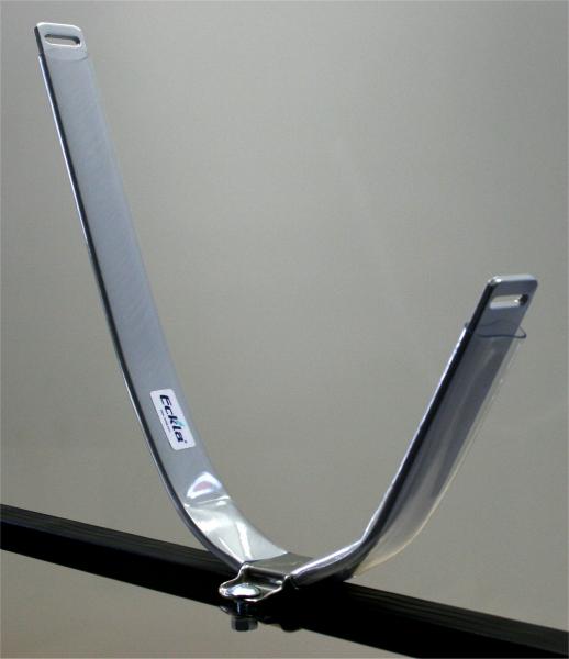 Eckla 78948 Ovalbügel für Dachträger Stahl pulverbeschichtet
