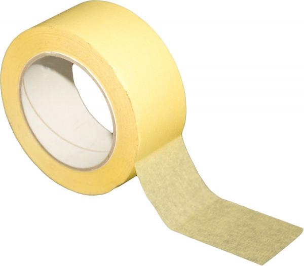 Kreppband 50mm x 50m, gelb Feinkrepp Klebeband
