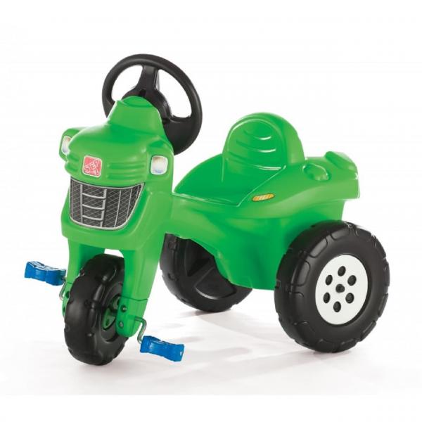 Tretfahrzeug Traktor, grün, Kinderfahrzeug