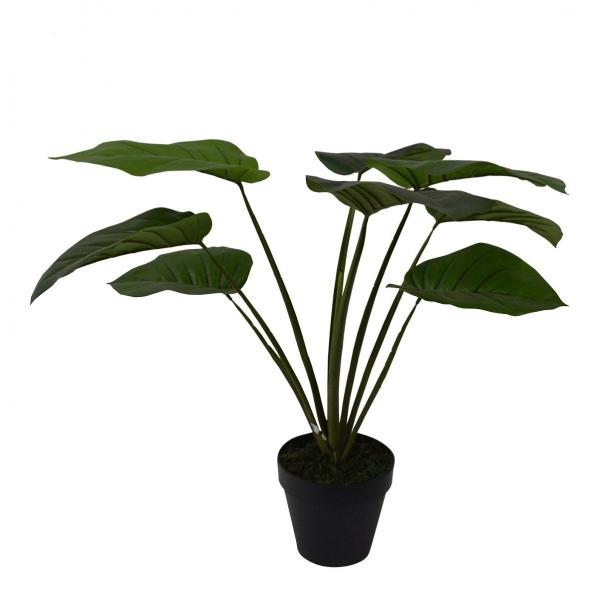 Philodendron, 60 cm hoch, künstllich, Dekopflanze, Kunstpflanze