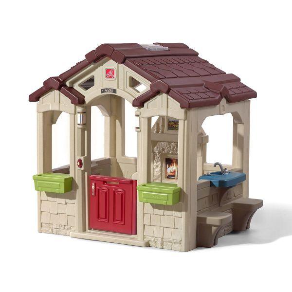 STEP2 Kinderspielhaus Charming Cottage, Kunststoff