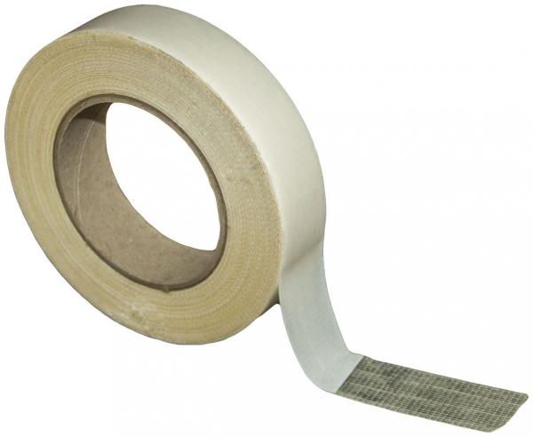 Gewebe-Verlegeband, 30mm x 25m, Montageband doppelseitiges Klebeband