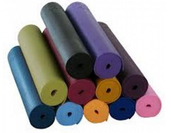 Yogamatte, PVC, Gymnastikmatte