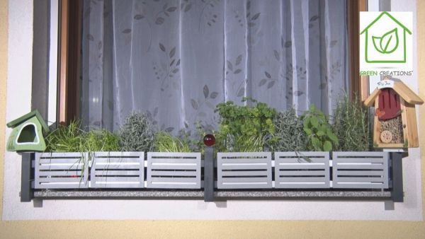 masu Dekoraufsätze für Blumenkastenhalterung