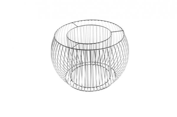 Gabione Pflanzkorb Olympia Größe M, Stahl, 49 cm Durchmesser