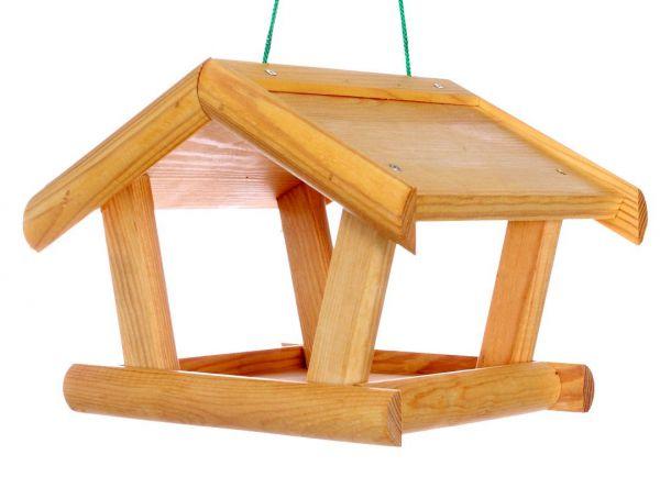"""Vogelhäuschen """"Alaska"""", zum Aufhängen, Holz, Futterhaus, Vogelfutterhaus"""