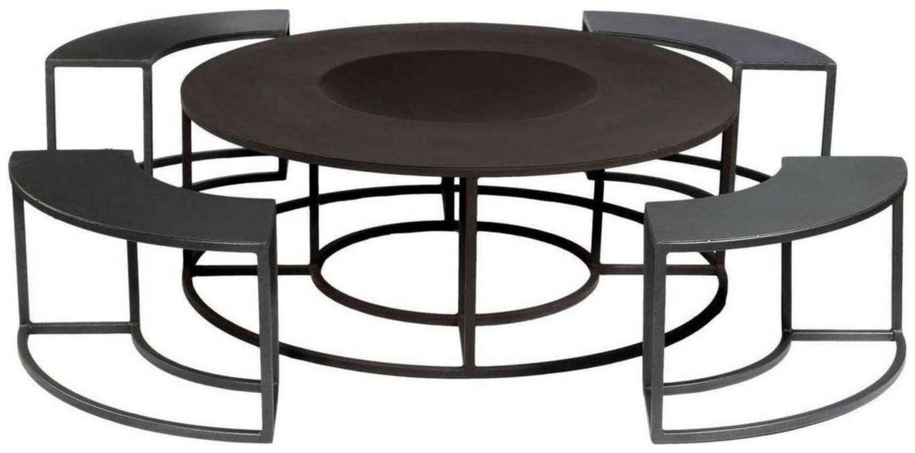 holz kohle feuerschale grill garten sport. Black Bedroom Furniture Sets. Home Design Ideas