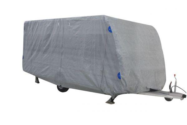 Schutzhülle für Wohnwagen/Caravan, Größe M, 5,50m, Polyamid 170g/qm, anthrazit, Schutzhaube