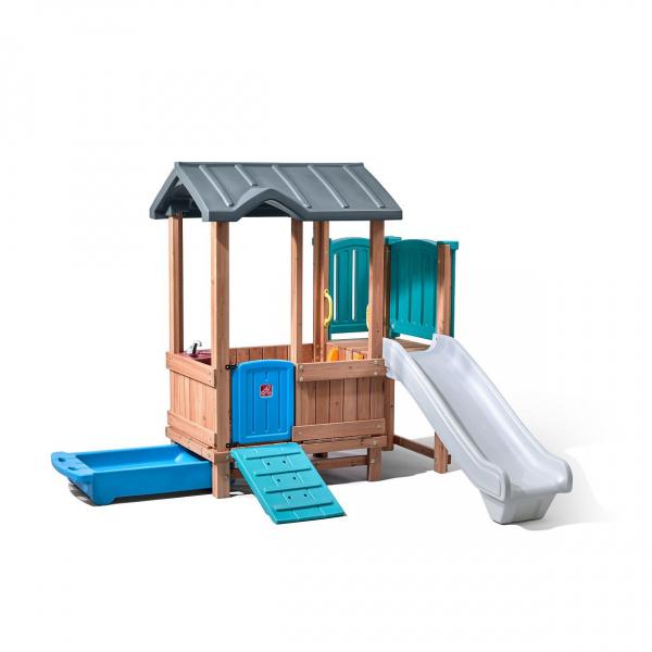 Spielturm WOODLAND, Kunststoff