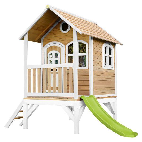 Axi Spielhaus TOM mit Rutsche und Veranda, Holz