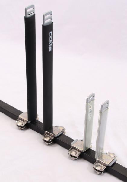 Senkrechtstütze für Dachträger 40 cm, Stahl pulverbeschichtet