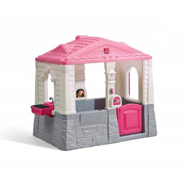 Spielhaus rosa