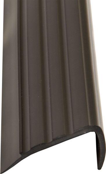 Treppenkantenprofil schwarz, PVC