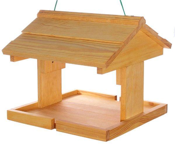 """Vogelhäuschen """"Norden"""", zum Aufhängen, Holz, Futterhaus"""