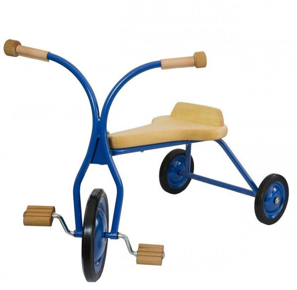 Dreirad mit naturfarbenen Sitz, ab 3 Jahren