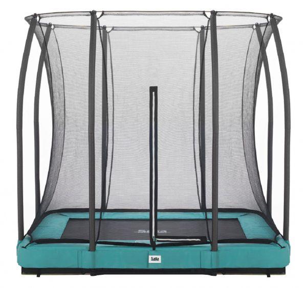 Salta Bodentrampolin Comfort Edition 214x153 cm, grün