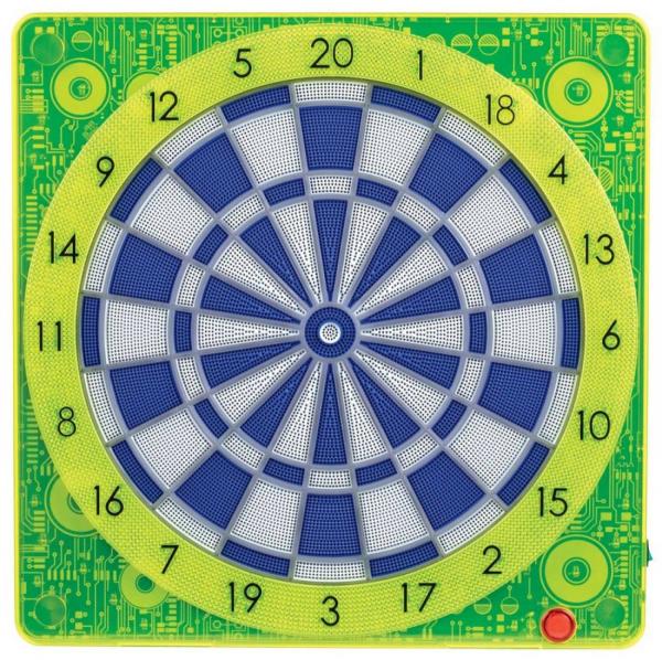Smartness Online Connect Dartboard SQUARE-501, Gelb