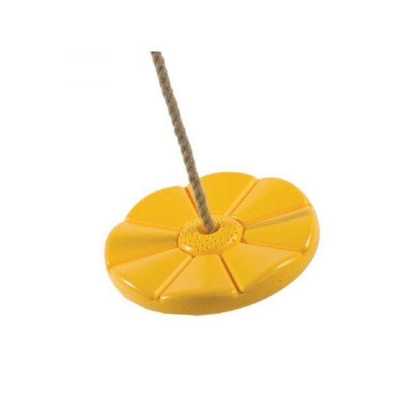 Nestschaukel rund, Affenschaukel gelb