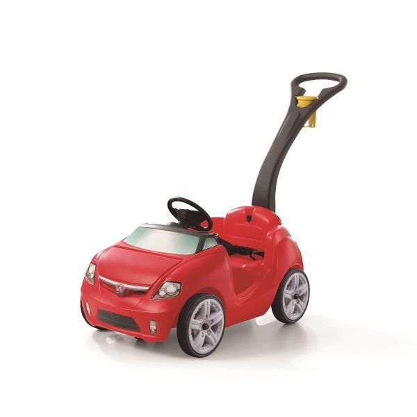 Rutscher mit Schiebestange, Sportauto