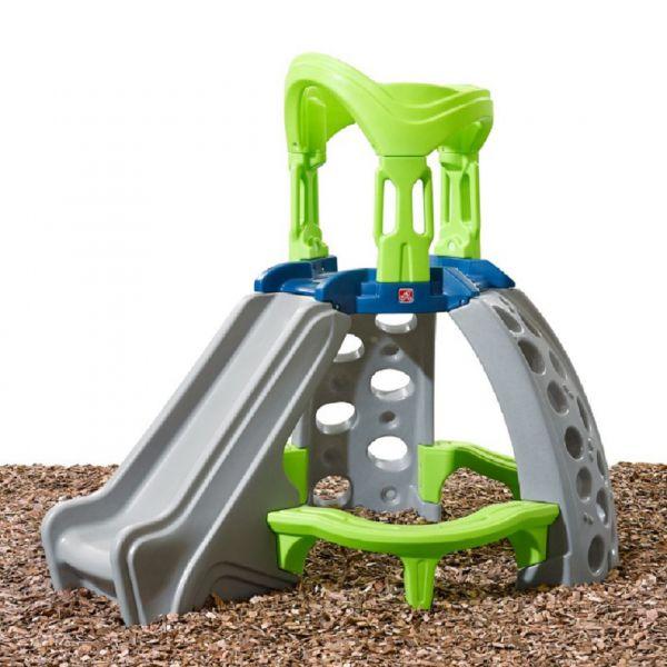 Kletterturm mit Rutsche, Kunststoff