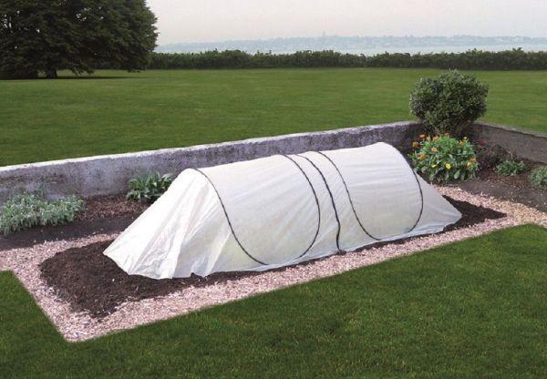 GardenGuard Kälteschutztunnel für Gartenbeet, mehrfach erweiterbar, Pop-Up-System