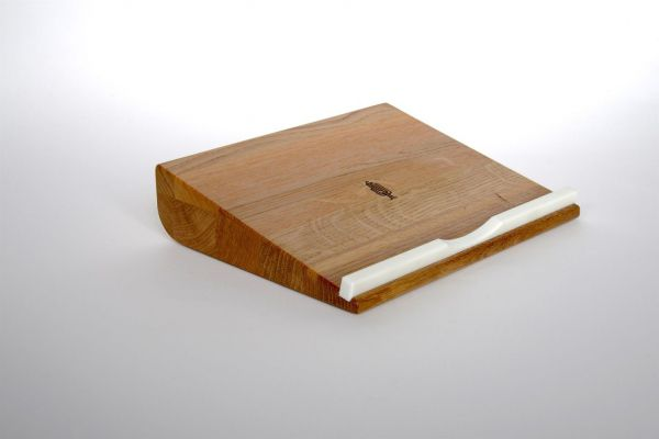 Notebookhalter Holz Eiche geölt Laptophalterung