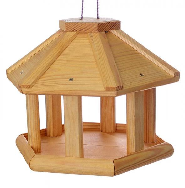 """Vogelhäuschen """"Osten I"""", zum Aufhängen, Holz, Futterhaus, Vogelfutterhaus"""