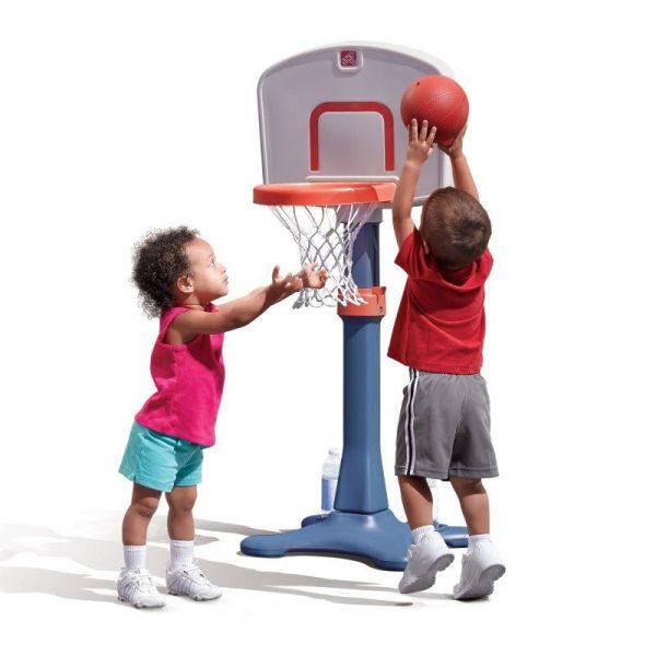 Basketballkorb mit Ständer, 3 Höhen einstellbar