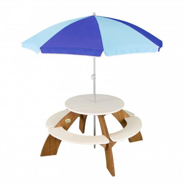 Sitzgruppe Orion rund mit Sonnenschirm für Kinder