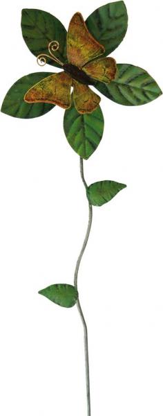 Windrad Schmetterling, M, 3-farbig sortiert, 97 x 31 x 10 cm