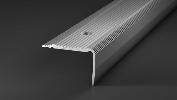 Treppenkantenprofil Alu silber, 100cm, 30x20 cm, günstige Setpreise