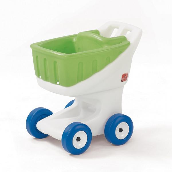 STEP2 Einkaufswagen grün/weiß, Kunststoff