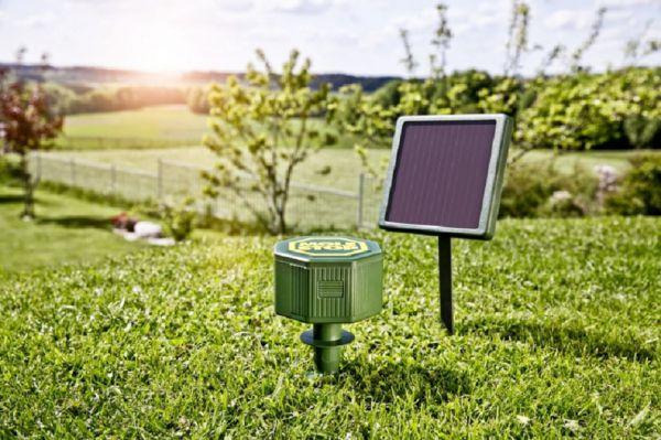 Wühlmaus- und Maulwurf-Vertreiber MOLE STOP Solar