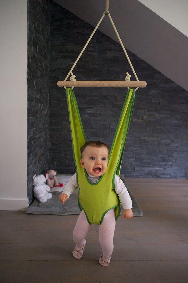 Petite planète Baby Jumper Zebulette Türhopser Babyschaukel aus Stoff