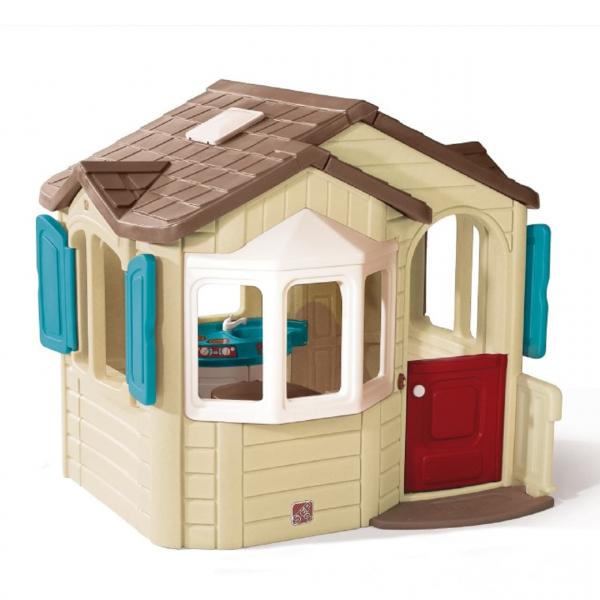Kinderspielhaus Welcome Home, Kunststoff, Gartenhaus
