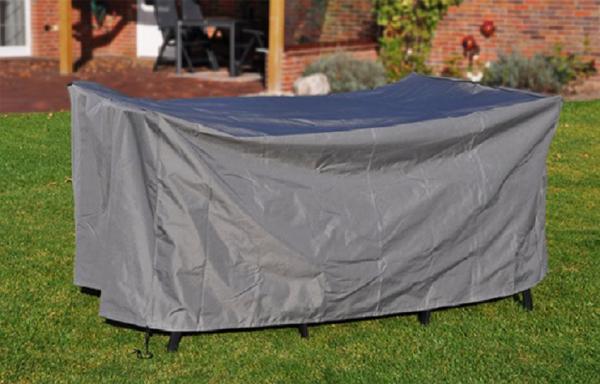 Premium Abdeckung für Möbel eckig, 185x125x85 cm, anthrazit Schutzzülle