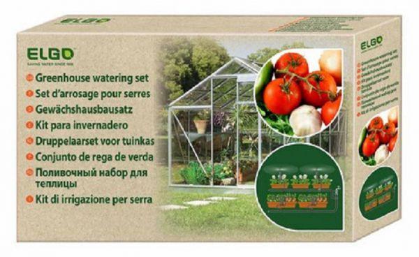 Bewässerungssystem für Gartenbeet und Gewächshaus, Tröpfchenbewässerung oder Sprühnebel