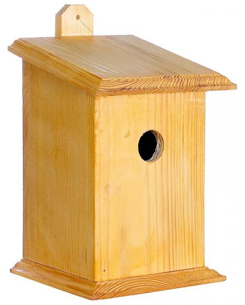 """Vogelhäuschen """"Sperling"""", für Wandmontage, Holz, Futterhaus, Vogelfutterhaus"""