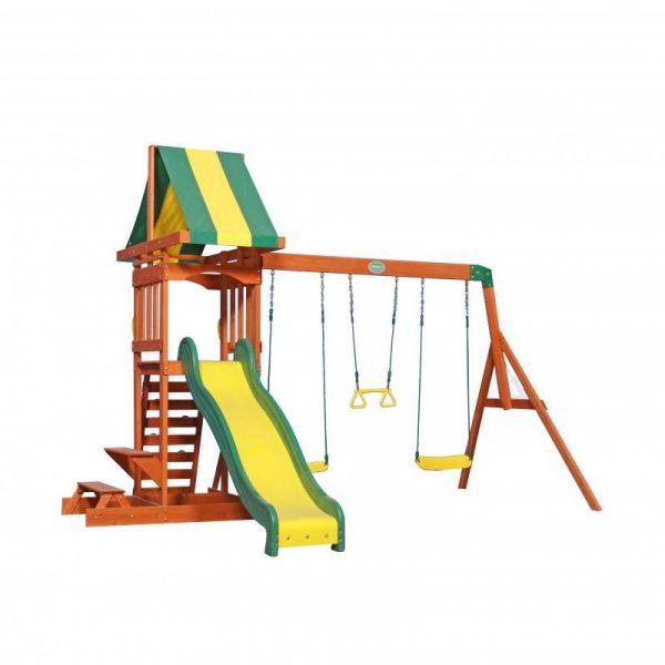 Backyard Spielturm mit Schaukel und Rutsche, Sunnydale