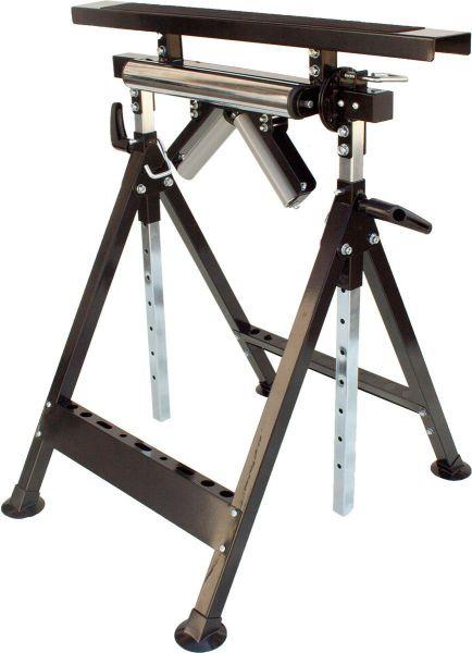 Multifunktions-Arbeitsbock, Rollenbock, höhenverstellbar, Klappbock, Sägebock
