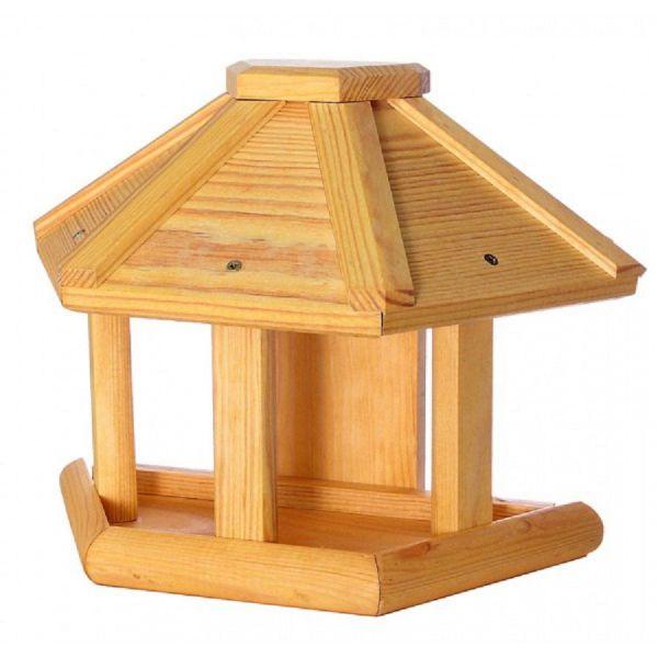 """Vogelhäuschen """"Osten II"""", für Wandmontage, Holz, Futterhaus, Vogelfutterhaus"""