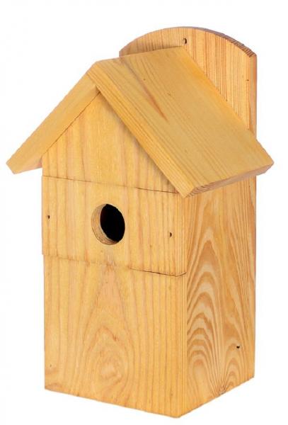"""Vogelhäuschen """"Bachstelze"""", für Wandmontage, Holz, Futterhaus, Vogelfutterhaus"""