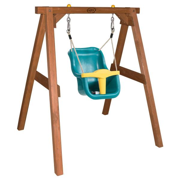 Axi Babyschaukel mit Sitz, braun