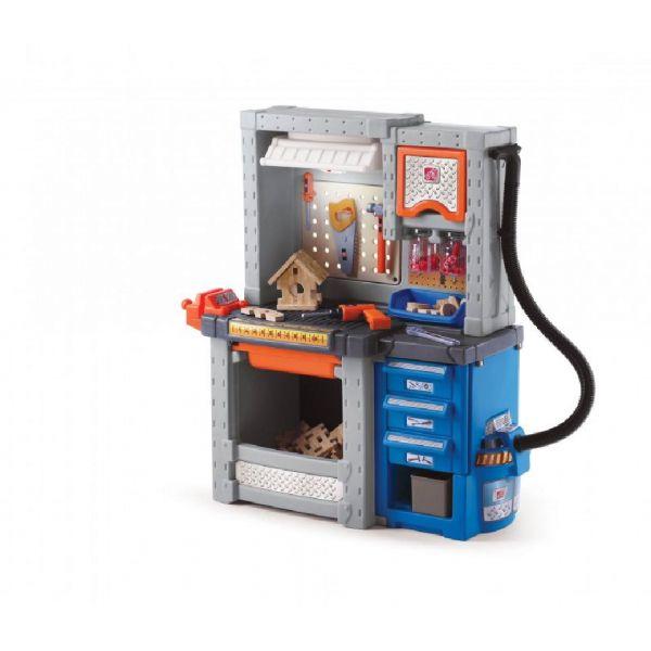 Deluxe Werkbank mit viel Zubehör, Werkzeugbank