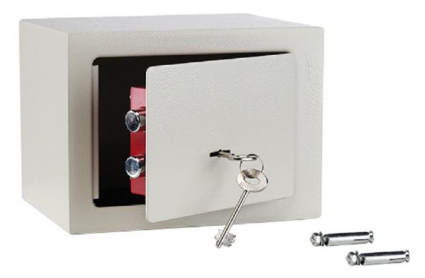 Safe mit 2 Schlüsseln, Wand-Tresor