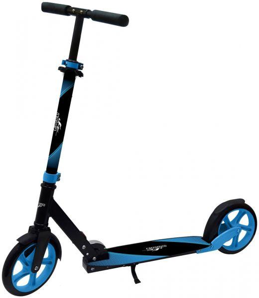 Scooter 200-XT blau seitliche Ansicht